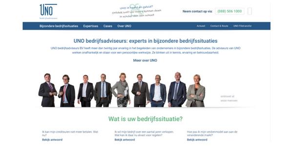 Content Voor UNO Bedrijfsadviseurs – In Samenwerking Met Nordique